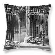 The Iron Gates Throw Pillow