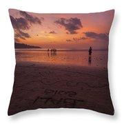 The Island Of God #15 Throw Pillow
