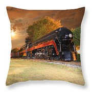 The J Throw Pillow