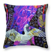 The Jacks Of Jupiter Throw Pillow