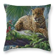 The Jaguar Throw Pillow