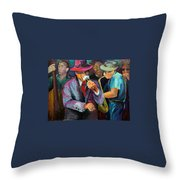 The Jam Throw Pillow