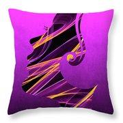 The Jazz Singer Throw Pillow