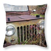 The Jeepster Throw Pillow