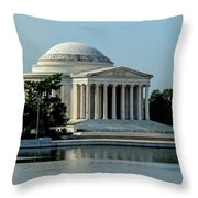 The Jefferson Memorial 2 Throw Pillow