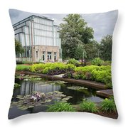 The Jewel Box At Forest Park Throw Pillow