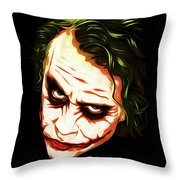 The Joker - Pop Art Throw Pillow