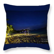 The  Jost At Night  Throw Pillow
