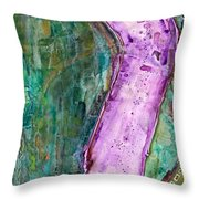 The Journey #57 One Day At A Time Throw Pillow