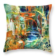 The Journey Inward Throw Pillow
