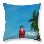 The Journey Of A Dog Trainer Throw Pillow