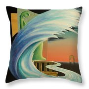 The Journy-17 Throw Pillow