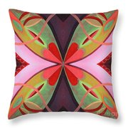The Joy Of Design 42 Arrangement 1 Throw Pillow