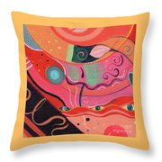The Joy Of Design X L V I I I Upside Down Throw Pillow