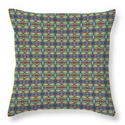 The Joy Of Design X X X I I I Arrangement 1 Tile 9x9 Throw Pillow