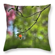 The Joy Of Fishing Throw Pillow