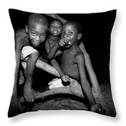 The Joy Of Youth Throw Pillow
