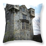 The Keep At Donegal Castle Ireland Throw Pillow