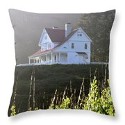 The Keepers House 2 Throw Pillow