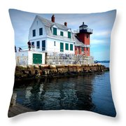 The Keeper's House Throw Pillow