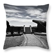 The Keepers Of Peace Throw Pillow