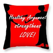 The Key To Love Throw Pillow