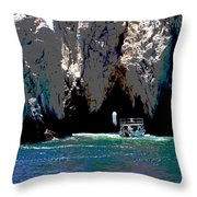 The Keyhole Mexico Cabo San Lucas Throw Pillow