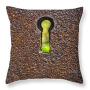 The Keyhole Throw Pillow
