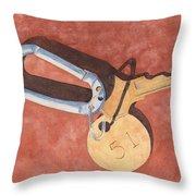 The Keys To Area 51 Throw Pillow