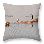 The Kids Day Out Throw Pillow