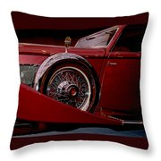 The King Of The Road Throw Pillow