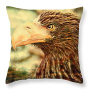 The King Of The Skies Throw Pillow
