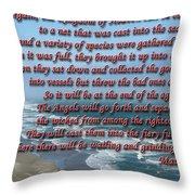 The Kingdom Of Heaven Throw Pillow