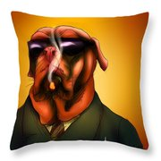 The Kingpin Throw Pillow