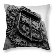 The Kings Crest Throw Pillow