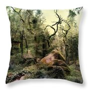 The King's Forest Throw Pillow