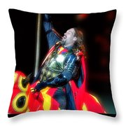 The King's Knight Throw Pillow