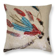 The Kiss - Tile 4 Throw Pillow