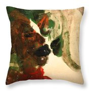 the Kiss 10 - tile Throw Pillow