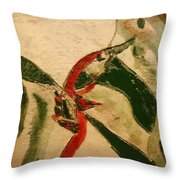 The Kiss 6 - Tile Throw Pillow