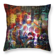 The Kiss - Woods And Sea Throw Pillow