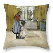 The Kitchen. From A Home Throw Pillow