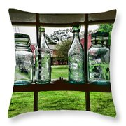 The Kitchen Window Throw Pillow