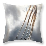 The Kite Bend Throw Pillow