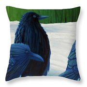 The Known And The Unknown Throw Pillow