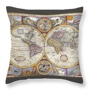 The Known World Throw Pillow