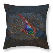 The Koi Cometh Throw Pillow