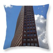 The Kollhoff-tower ...  Throw Pillow