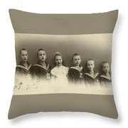 The Konstantinovichi Children Throw Pillow
