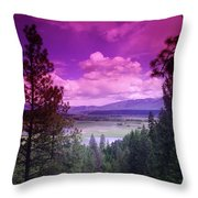The Kootenai Wildlife Reserve   Throw Pillow